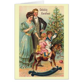 """""""Gelukkig Kerstfeest """" Karte"""