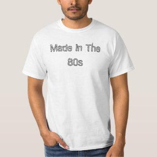 Gemacht im 80er hemden