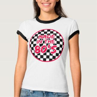 Gemacht im 80er t-shirts