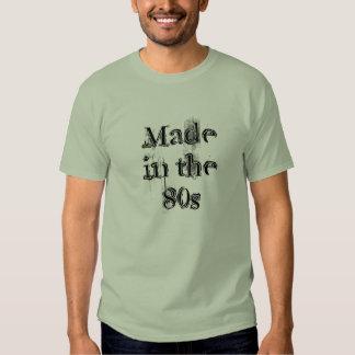 Gemacht im 80er tshirts