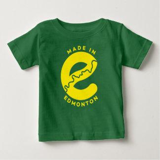 Gemacht im Edmonton-Baby-T - Shirt