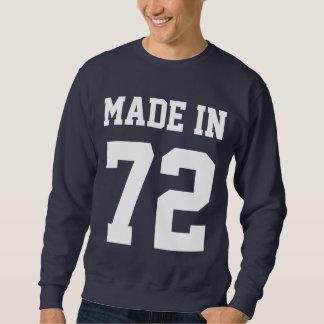 Gemacht im kundenspezifischen Geburtstags-Jahr Sweatshirt
