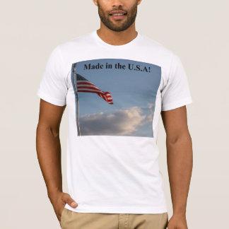 Gemacht im T - Shirt D0003 USA-Männer