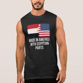 Gemacht in Amerika mit ägyptischen Teilen Ärmelloses Shirt