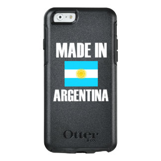 Gemacht in Argentinien-Flagge OtterBox iPhone 6/6s Hülle