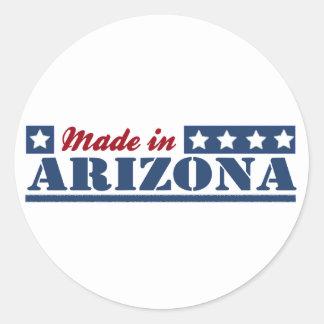 Gemacht in Arizona Runde Sticker