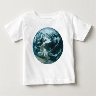 Gemalte Erde Baby T-shirt