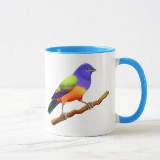 Gemalte mit dem Kopfe stoßende Wecker-Tasse Tasse