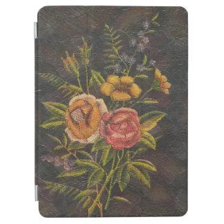 Gemalte Vintage Blumen-Rose iPad Air Hülle
