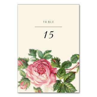 Gemalte Vintage Rose Boho Hochzeit