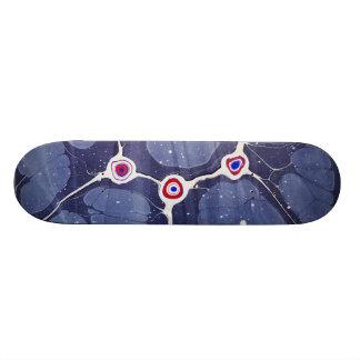 Gemarmorte Pop-Kunst 20,1 Cm Skateboard Deck