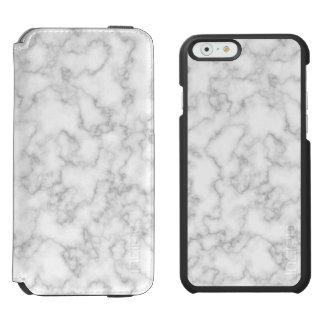 Gemarmorter graues incipio watson™ iPhone 6 geldbörsen hülle