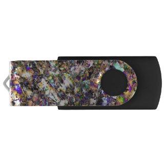 Gemischte Medien USB-Blitz-Antrieb Swivel USB Stick 3.0