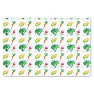Gemüseentwurf für Handwerk und Küche Seidenpapier