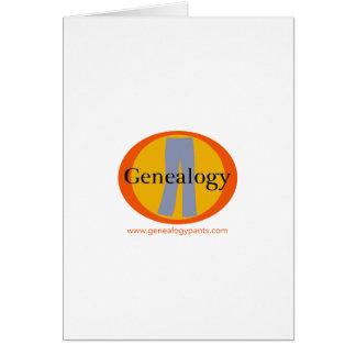 GenealogyPANTS Briefpapier Grußkarte