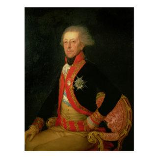 General Antonio Ricardos c.1793-94 Postkarte