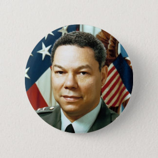 General Colin Powell Runder Button 5,7 Cm