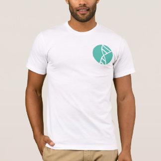Genetisches Logo der Reihenfolgen-DNS T-Shirt
