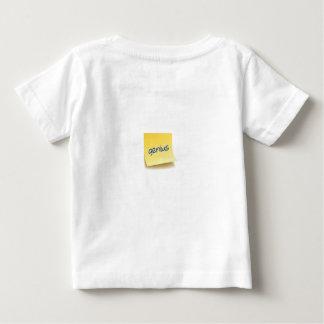 Genie-klebrige Anmerkung Baby T-shirt