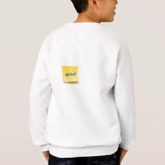 Genie-klebrige Anmerkung Sweatshirt