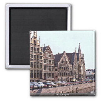 Gent, Belgien Quadratischer Magnet