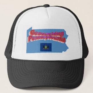 Geocaching Pennsylvania Hut Truckerkappe