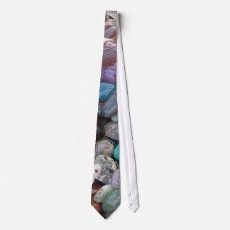 Geologie-Felsen! (Stapel der reizenden Steine) Bedruckte Krawatte