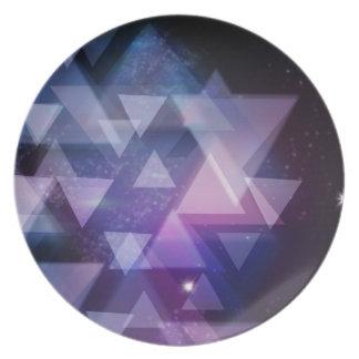 geometrisch melaminteller