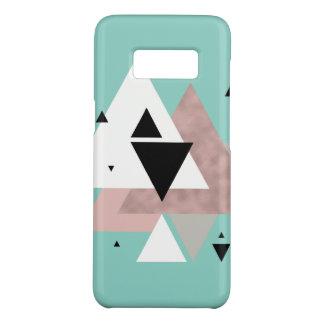 geometrische Dreiecke der eleganten klaren Case-Mate Samsung Galaxy S8 Hülle