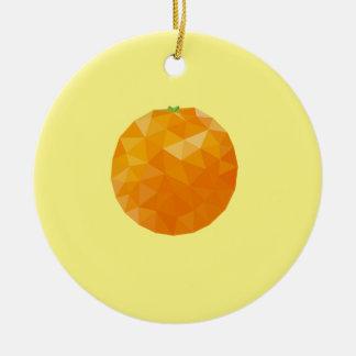 Geometrische Frucht Keramik Ornament
