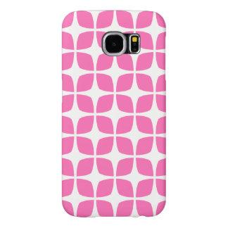 Geometrischer Kasten/Pink der Galaxie-S6