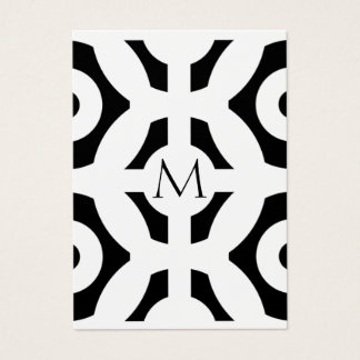 Geometrisches Muster Jumbo-Visitenkarten