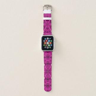 Geometrisches OPkunst-psychedelisches Apple Watch Armband