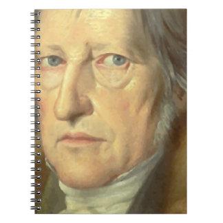 Georg Wilhelm Friedrich Hegel Spiral Notizblock