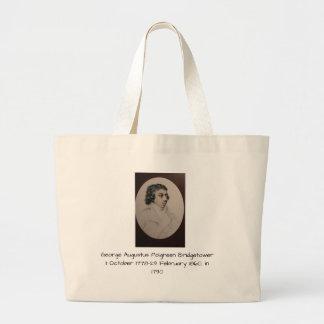 George Augustus Polgreen Bridgetower 1790 Jumbo Stoffbeutel