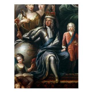 George I und sein Enkel, Prinz Frederick Postkarten