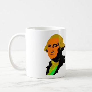George Washington Pop-Kunst Tasse