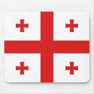 Georgia-Flagge Mousepad