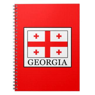 Georgia Spiral Notizblock