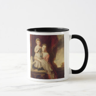 Georgiana, Gräfin Spencer mit Dame Tasse