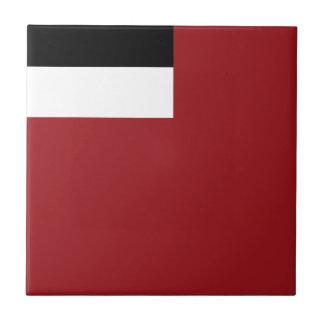 Georgische Flagge Kleine Quadratische Fliese