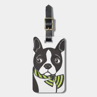 Gepäckanhänger Bostons Terrier