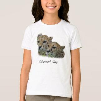 Gepard-Mädchen T-Shirt