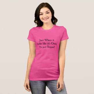 Gerade als T-Shirt