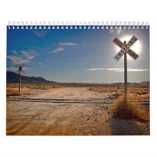 Gerade Bahn-Eisenbahn-Kalender Abreißkalender