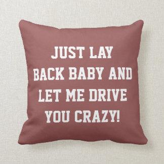Gerade Lage-zurück Baby Kissen