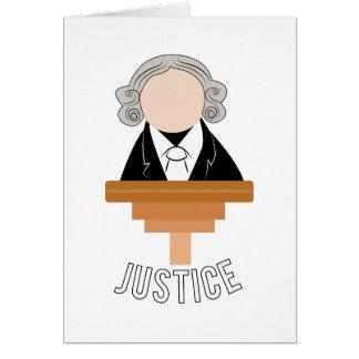 Gerechtigkeit Karte