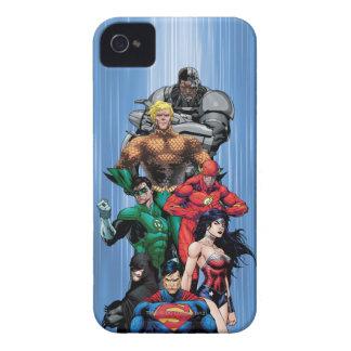 Gerechtigkeits-Liga - Gruppe 3 iPhone 4 Hülle