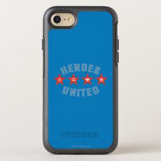 Gerechtigkeits-Liga-Helder lösten Logos OtterBox Symmetry iPhone 8/7 Hülle