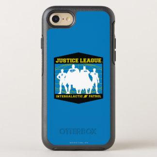 Gerechtigkeits-Liga-intergalaktische Patrouille OtterBox Symmetry iPhone 8/7 Hülle